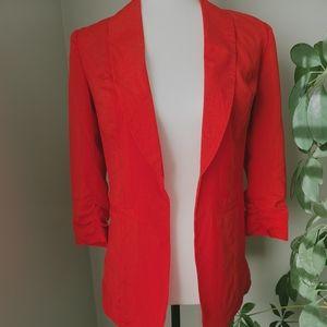 Kensie red blazer like new